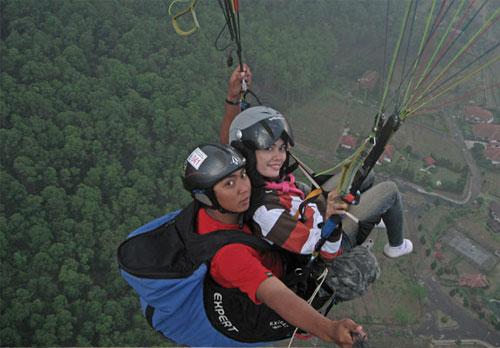 Mom, I'm Flying..